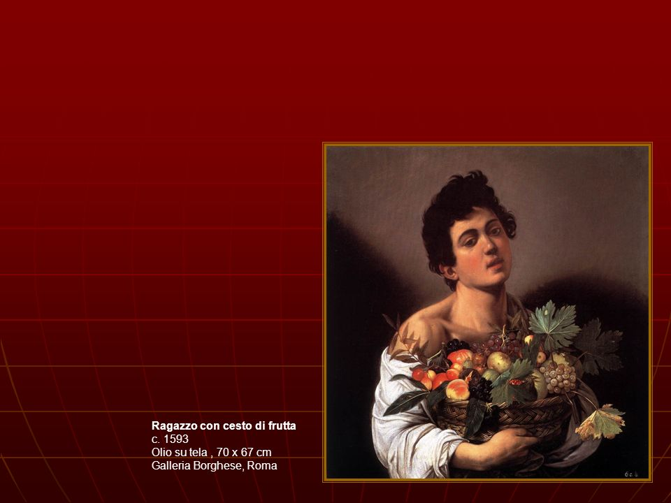 Martirio di San Matteo - 1599- 1600 Olio su tela (cm 323x343) Cappella Contarelli, chiesa di San Luigi dei Francesi - Roma Caravaggio non si propone di ricostruire un fatto storico, ma di darne una rappresentazione emotivamente coinvolgente.
