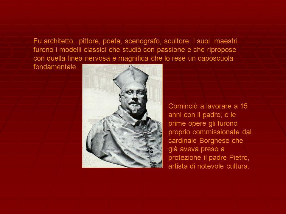 Fu architetto, pittore, poeta, scenografo, scultore. I suoi maestri furono i modelli classici che studiò con passione e che ripropose con quella linea