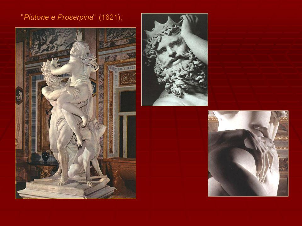 Seguirà nel 1621-22 il gruppo di Apollo e Dafne , dove la ricerca del movimento si accentua e perfeziona indicando già uno stile espressivo completamente raggiunto.