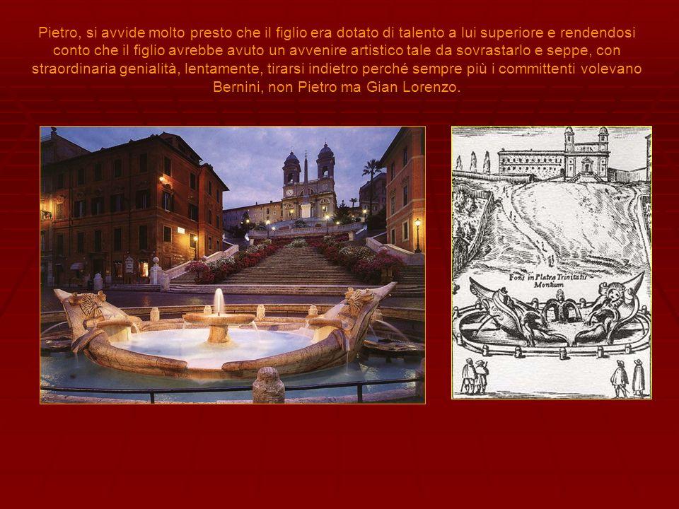 appassionato studioso dell architettura classica, il Bernini tenterà una felicissima sintesi fra scultura e architettura nel Baldacchino di S.