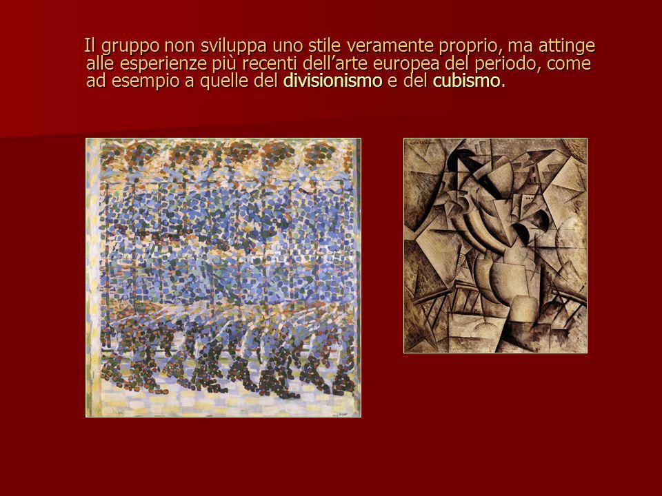 Il gruppo non sviluppa uno stile veramente proprio, ma attinge alle esperienze più recenti dellarte europea del periodo, come ad esempio a quelle del
