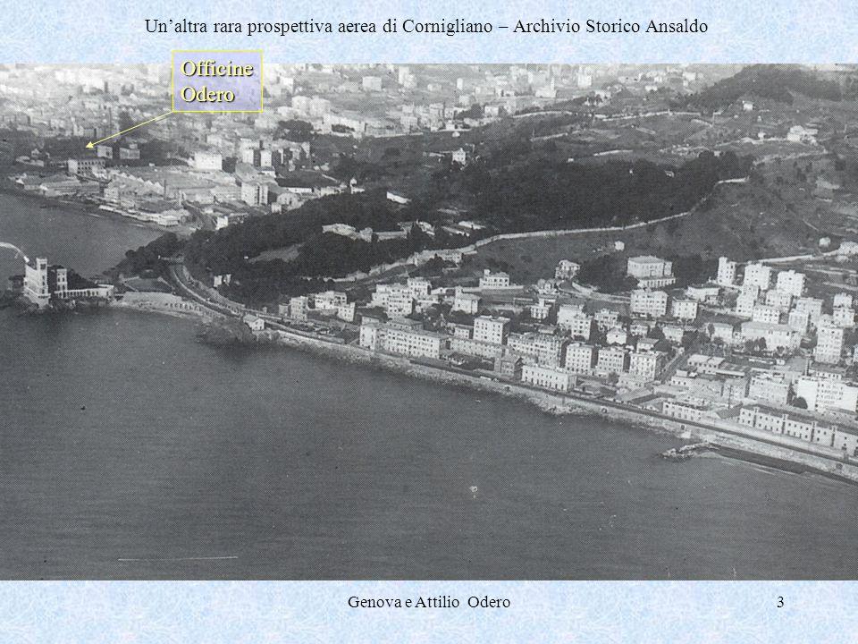 Genova e Attilio Odero3 Unaltra rara prospettiva aerea di Cornigliano – Archivio Storico Ansaldo Officine Odero