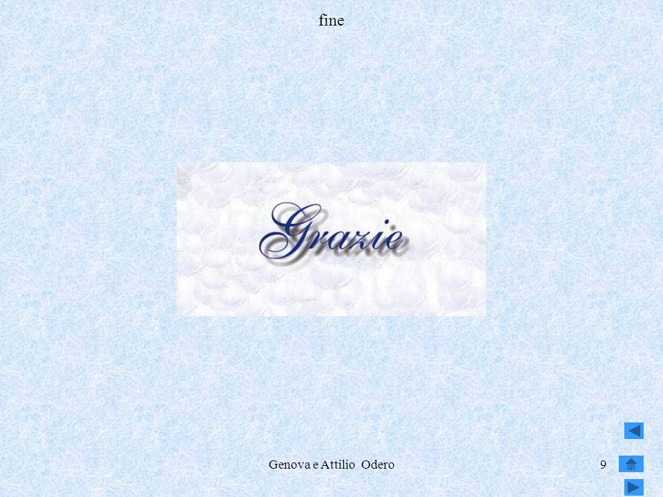 Genova e Attilio Odero9 fine