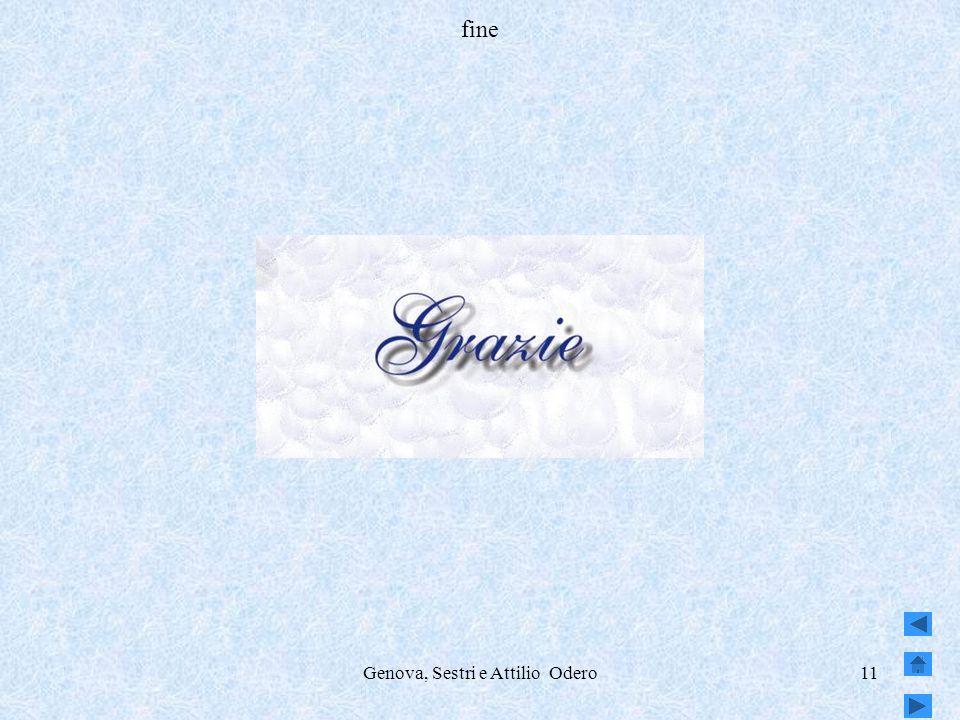Genova, Sestri e Attilio Odero11 fine