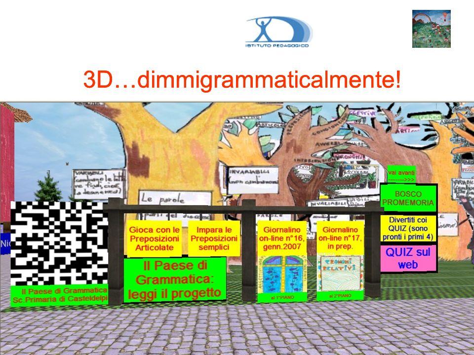 3D…dimmigrammaticalmente!