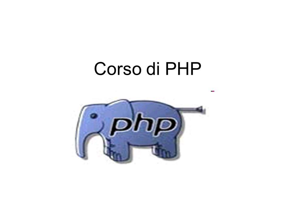 Corso di PHP