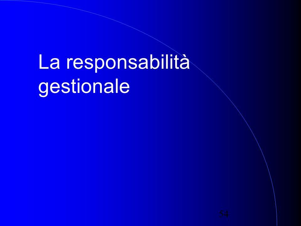 54 La responsabilità gestionale