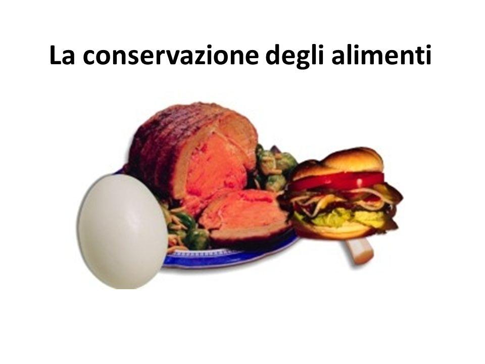 Conservanti naturali Zucchero comune o Saccarosio (C 12 H 22 O 11 ) Il meccanismo di azione = Sale.