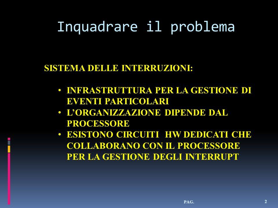 Interrupt hw mascherabili 33 Regolato dal IF(flag di interrupt) IF = 0 (Istr.