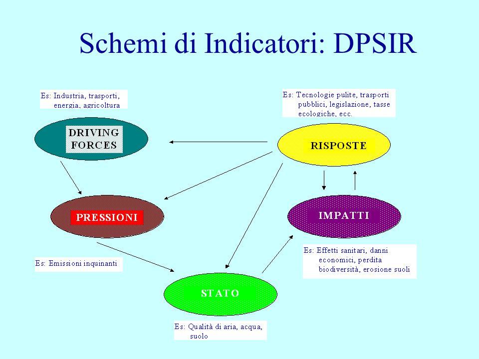 Schemi di Indicatori: DPSIR