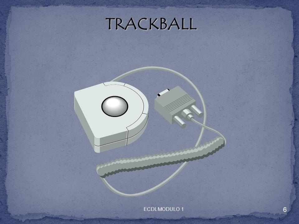 TRACKBALL TRACKBALL 6 ECDL MODULO 1