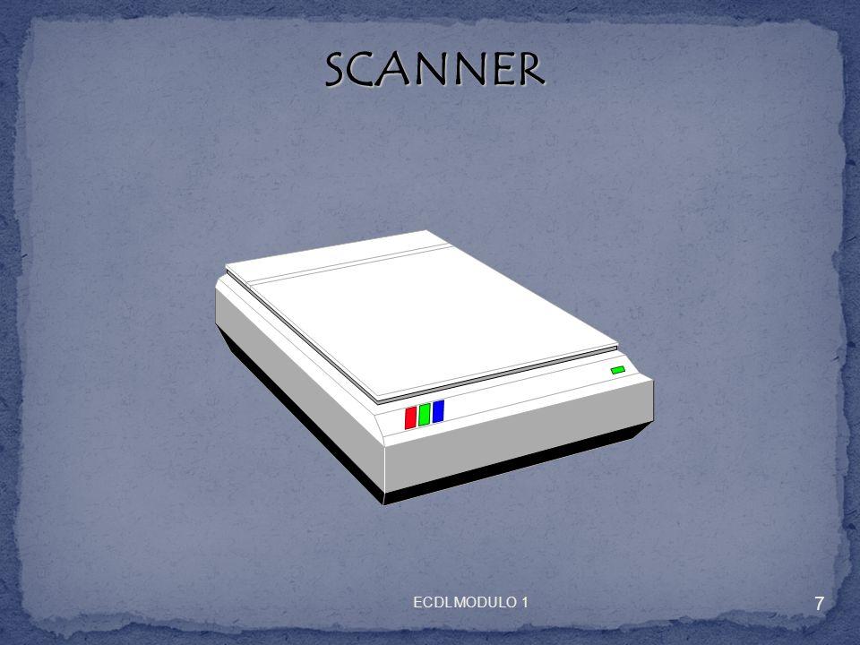SCANNER SCANNER Si tenga presente che tramite scanner è possibile digitalizzare foto, immagini varie e persino il testo di un articolo, di una fotocopia, ecc… Per fare questultima operazione occorre però un programma di riconoscimento del testo (OCR), come omnipage, generalmente installabile con un cd in dotazione al momento dellacquisto.