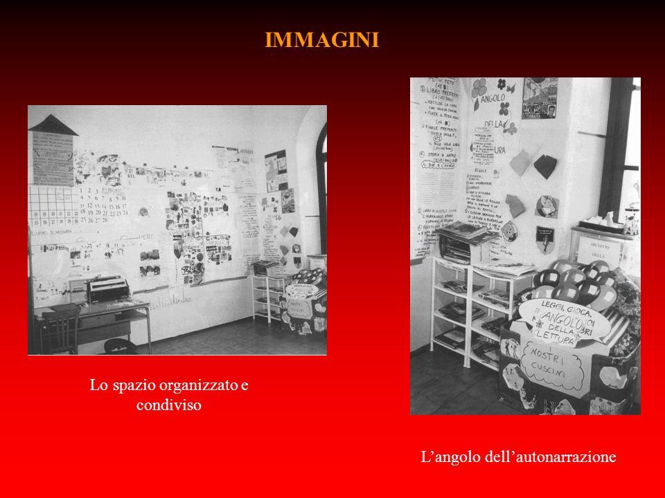 Lo spazio organizzato e condiviso Langolo dellautonarrazione IMMAGINI