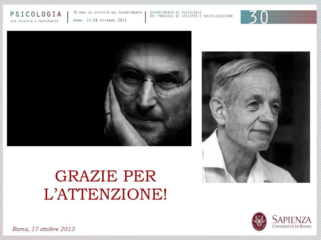 Roma, 17 ottobre 2013 GRAZIE PER LATTENZIONE!