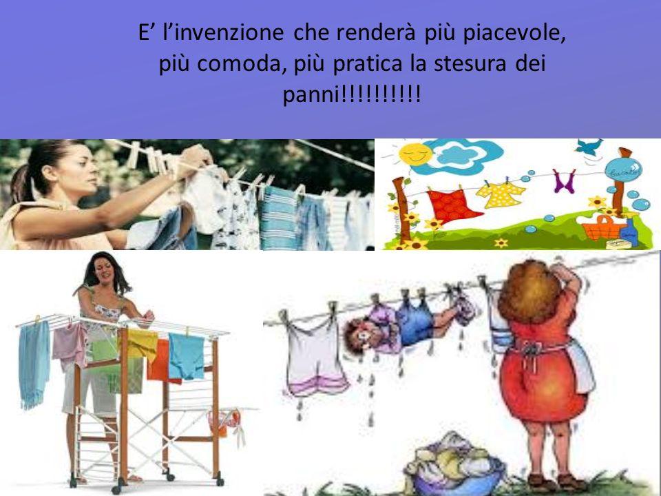 E linvenzione che renderà più piacevole, più comoda, più pratica la stesura dei panni!!!!!!!!!!