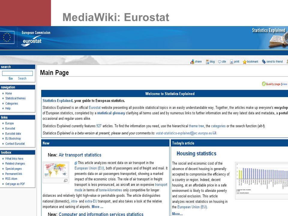MediaWiki: Eurostat