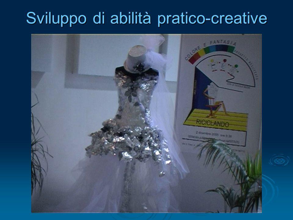 Sviluppo di abilità pratico-creative