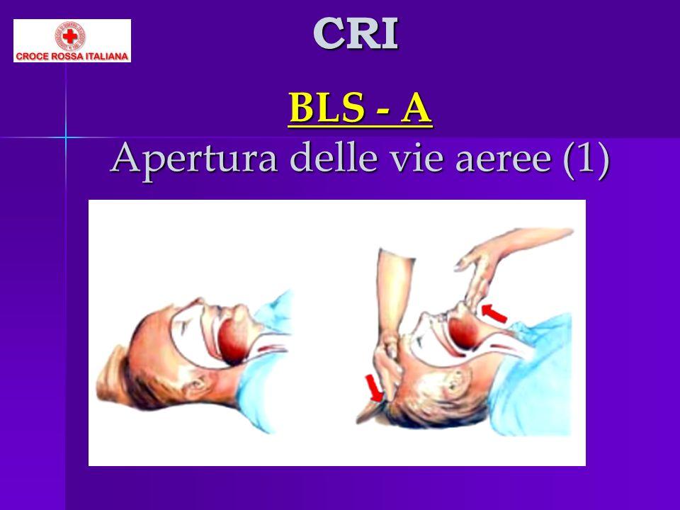 BLS - A Apertura delle vie aeree (1) CRI