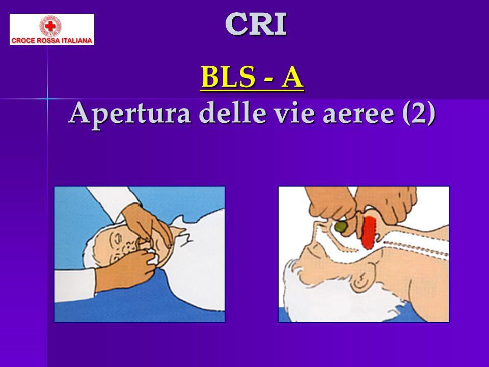 BLS - A Apertura delle vie aeree (2) CRI