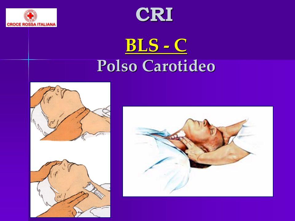 BLS - C Polso Carotideo CRI
