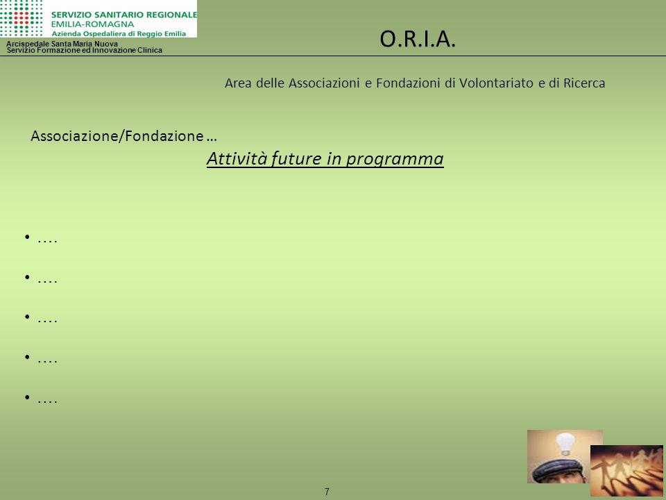 8 O.R.I.A.