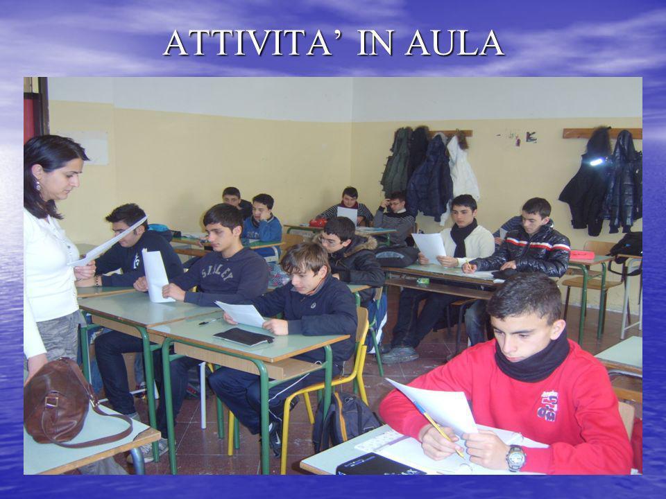 Attività in aula