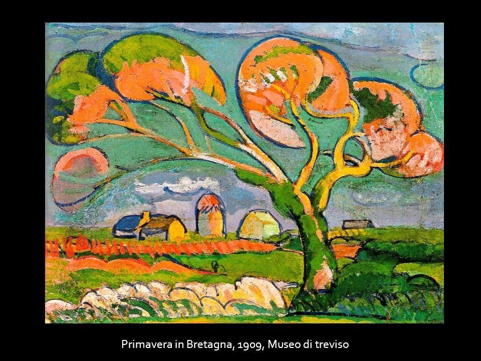 Primavera in Bretagna, 1909, Museo di treviso