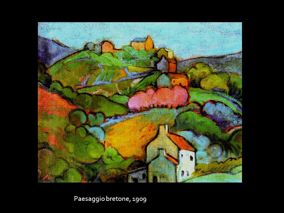 Paesaggio bretone, 1909