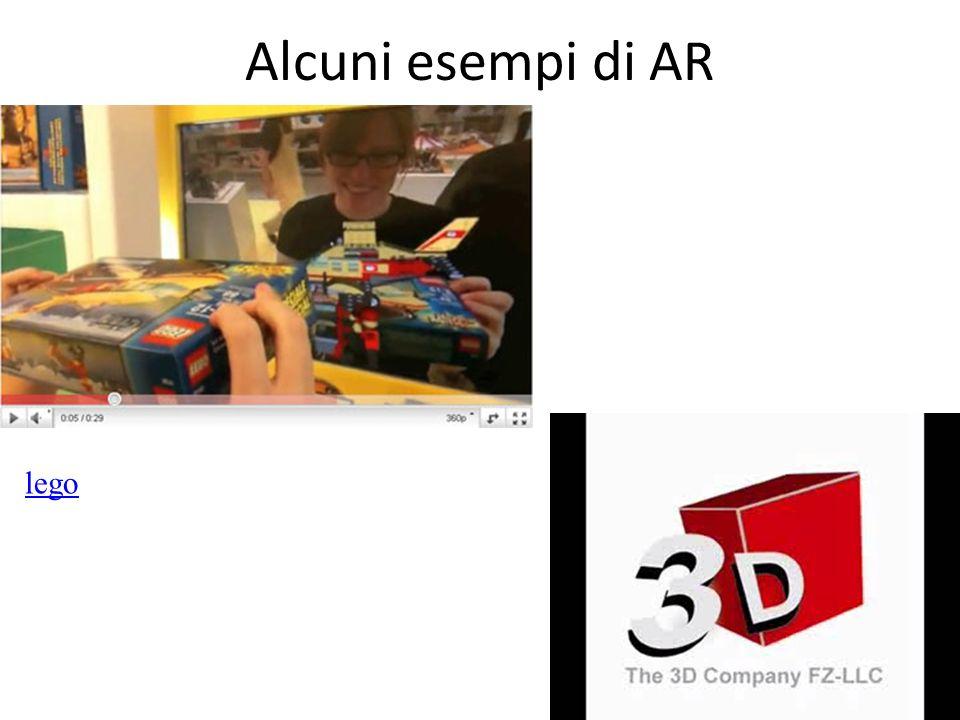 Alcuni esempi di AR lego