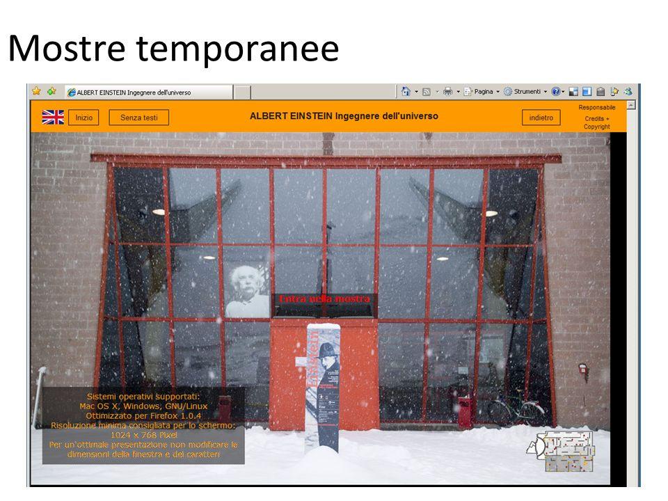 Mostre temporanee