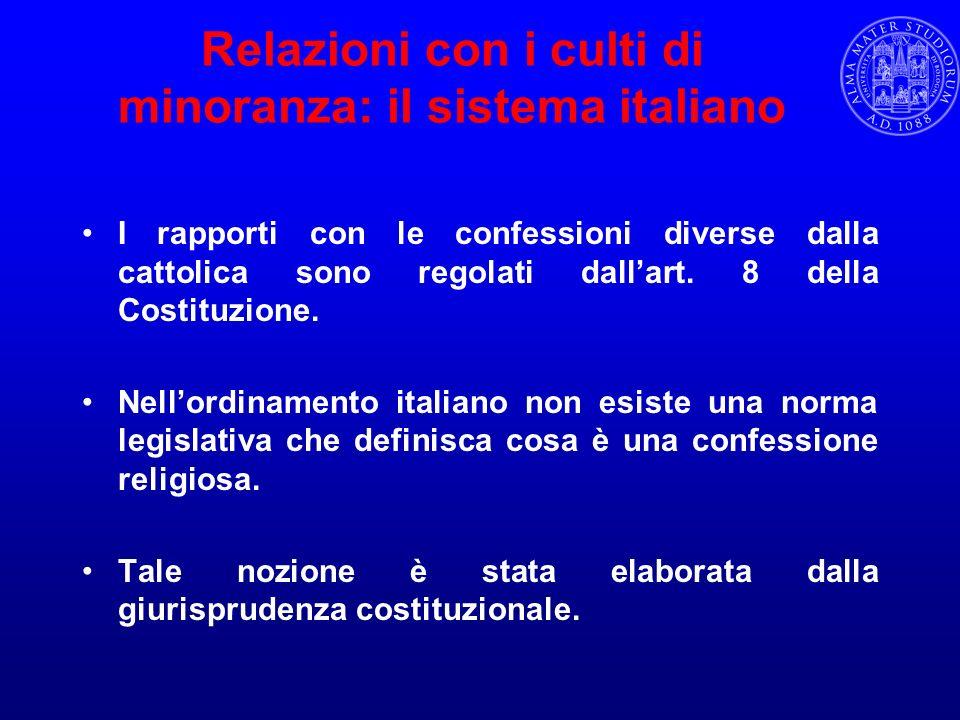 Libertà religiosa in Italia: lart.19 Cost.Art.