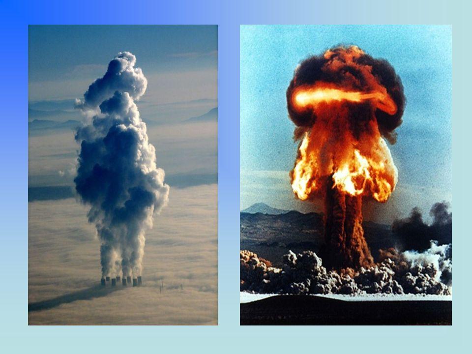 Schema di fusione nucleare D-T Schema di una reazione di fissione nucleare