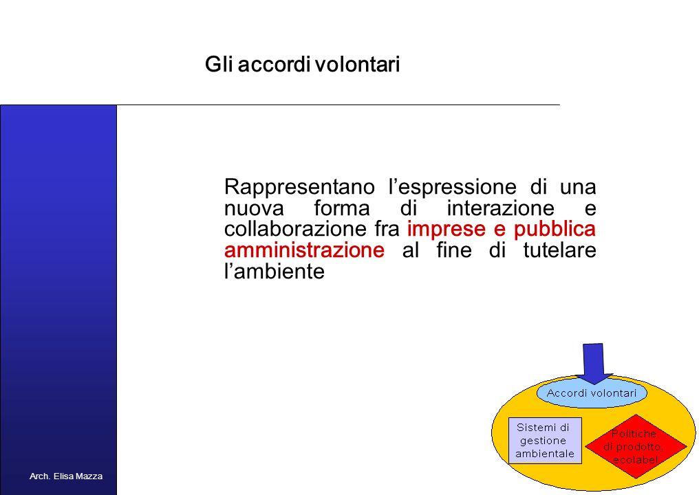 MANCUSO 2005 Tre sono i nuovi strumenti volontari finalizzati a stimolare strategie preventive da parte delle imprese 1.