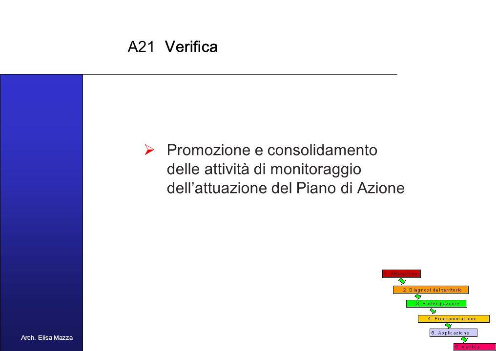 MANCUSO 2005 A21 Applicazione Adozione del Piano di Azione da parte dellOrgano competente (es.