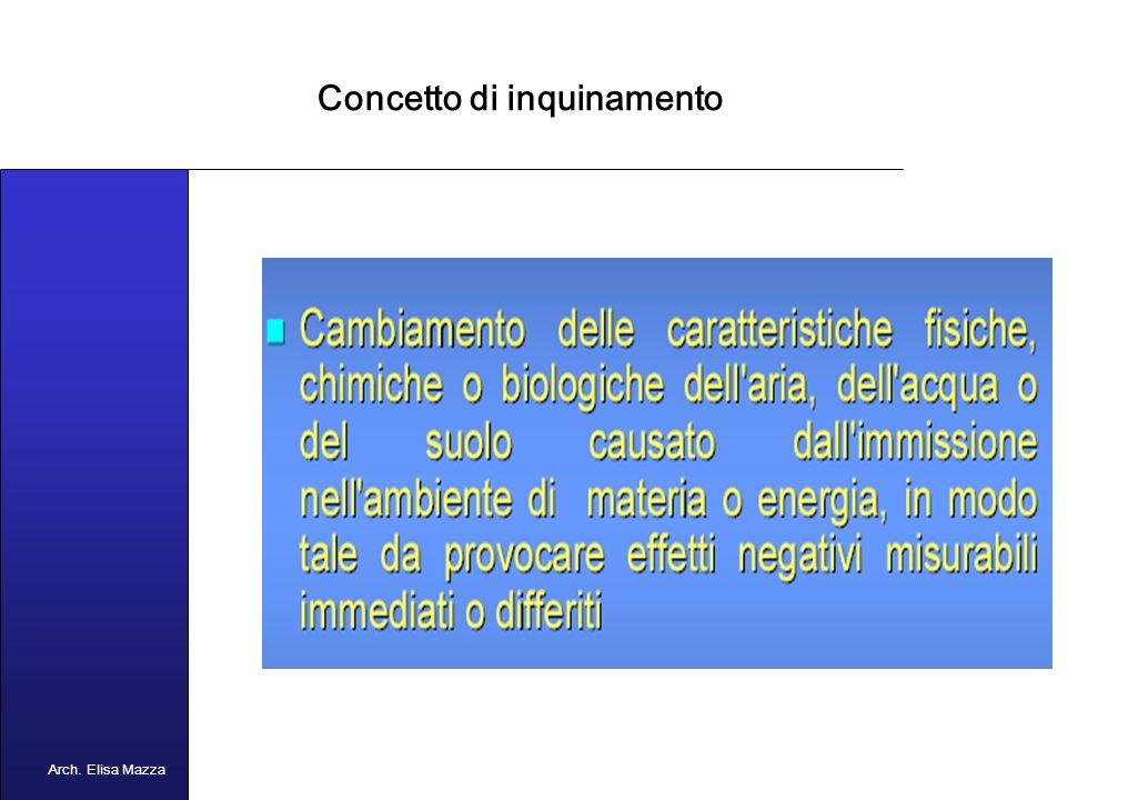 MANCUSO 2005 Linquinamento Arch. Elisa Mazza