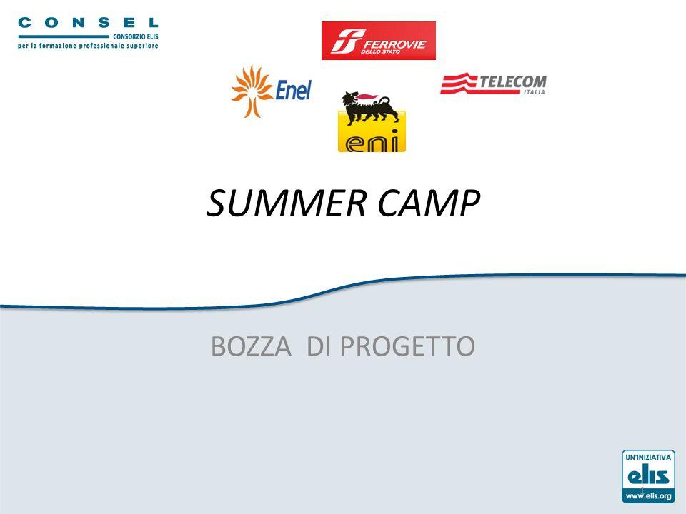 SUMMER CAMP BOZZA DI PROGETTO 1