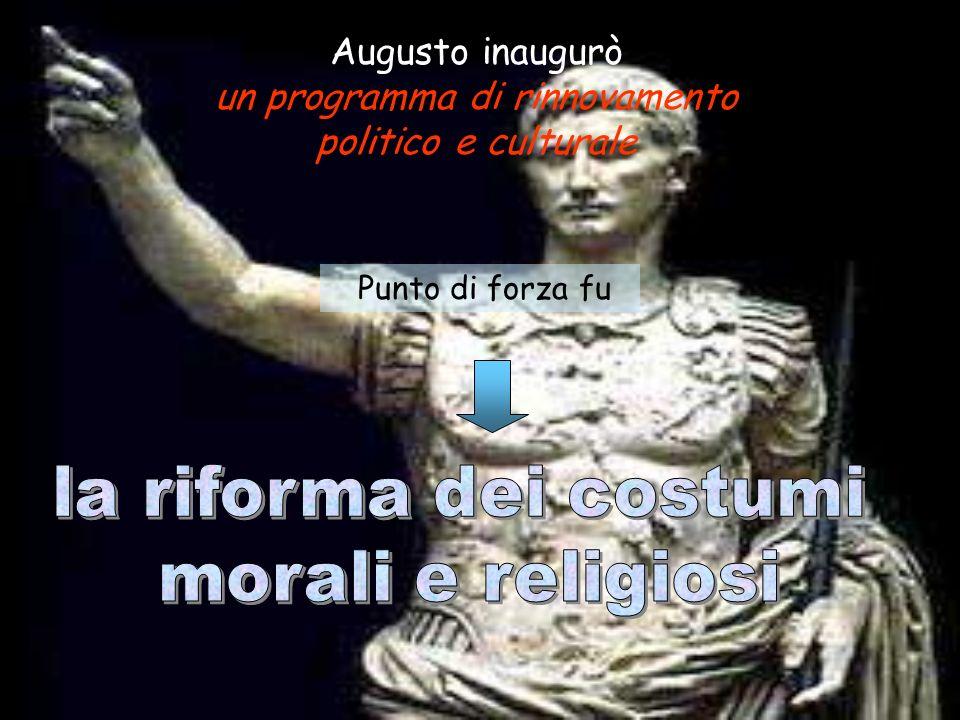 Durante il governo di Augusto, la stabilità politica e monetaria comportò un notevole miglioramento nelle condizioni di vita della popolazione. Lagric