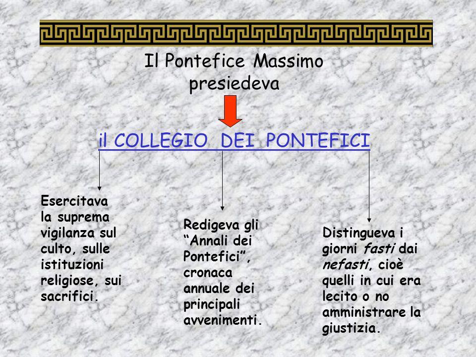 Pacificato limpero, Augusto tentò di restaurare gli antichi costumi e di far rivivere lautentico spirito di devozione agli dei romani. Per far questo