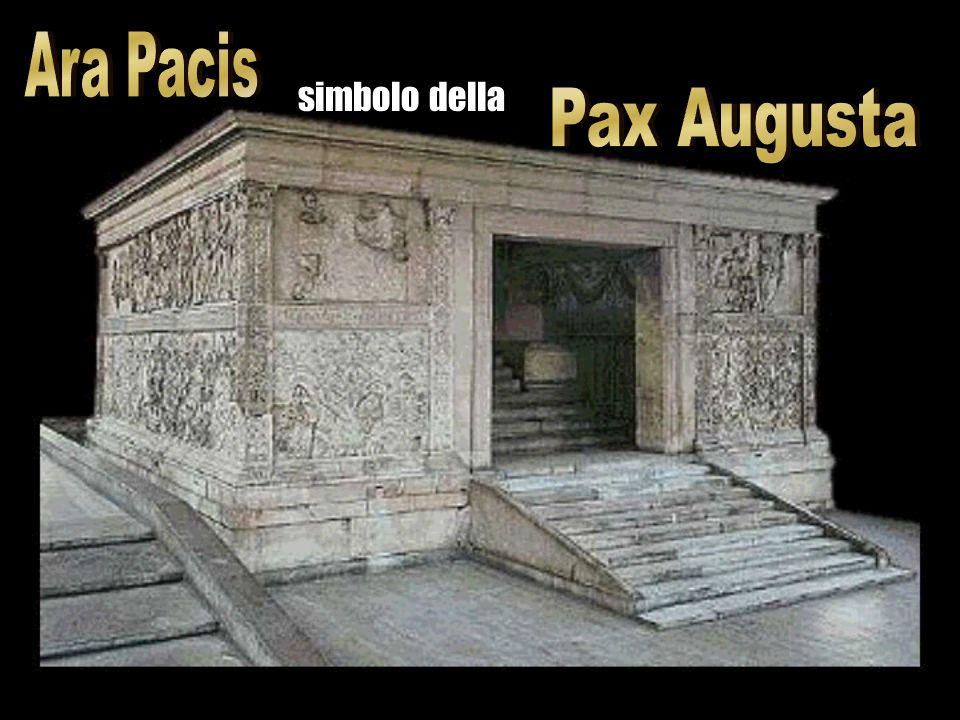 La politica religiosa augustea andò oltre il rispetto dei riti tradizionali con la creazione del doveva rivestire di un alone religioso non solo limpe