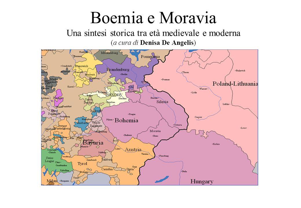 3.2 La dinastia dei Přemyslidi Bretislao I 1035-55 Vratislao II 1061-92 Primo re ceco Regnarono sulle terre ceche dall870 ca al 1306 secolo poi si estinsero Discendenti dal leggendario slavo Přemysl Oráč (lAratore )