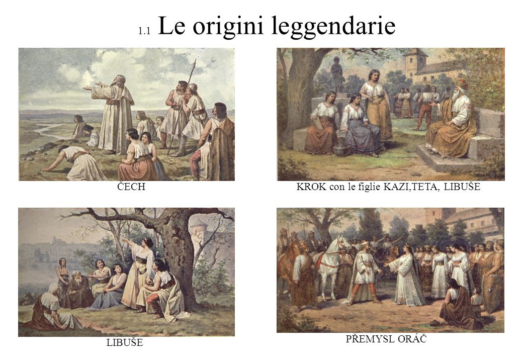 1.2 I celti Celti boji viventi sul suolo ceco dal 400 a.C. fino alla nuova era
