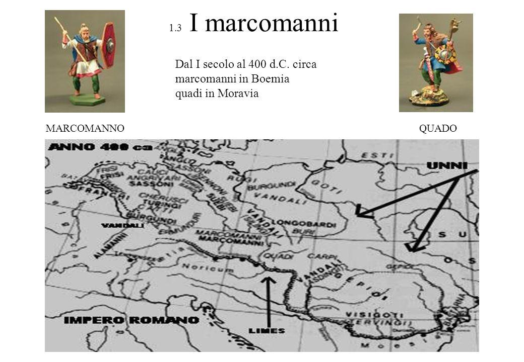 1.4 Gli slavi e limpero di Samo Doudlebi e Zlíčani tribù slave nelle terre ceche dal 500 d.C.