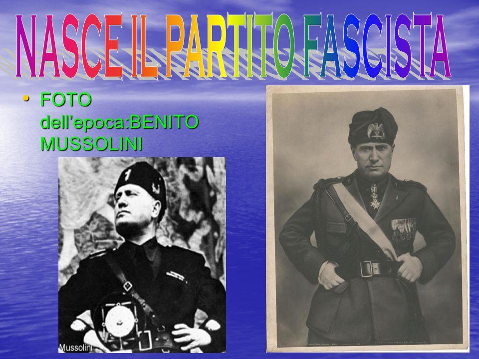 I giovani vennero organizzati in associazioni di tipo militare. Mussolini e i Balilla