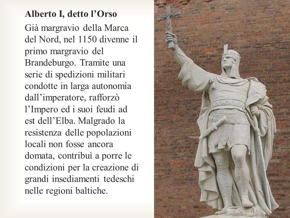 Enrico il Leone Cugino e rivale dellimperatore Federico I Barbarossa, fu tra i principali fautori, nonché protagonista di una serie di campagne militari per la riannessione dei territori al di là dellElba, perduti a seguito della prima grande rivolta slava e baltica.