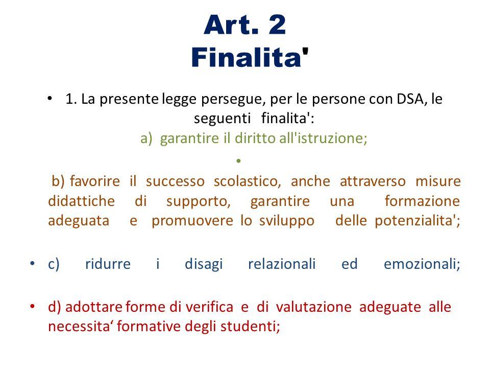 Art. 2 Finalita 1.