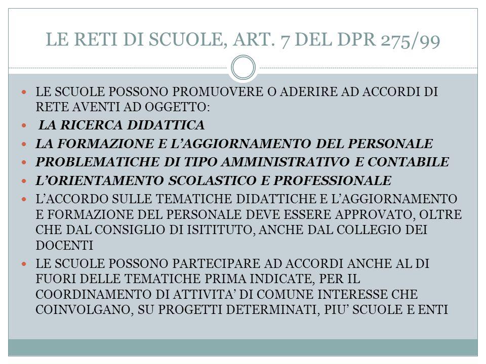 LAUTONOMIA DI RICERCA, ART. 6 DEL DPR 275/99 LAUTONOMIA DI RICERCA CONSENTE DI: 1)PROGETTARE ED ESERCITARE LINNOVAZIONE METODOLOGICA E DISCIPLINARE 2)