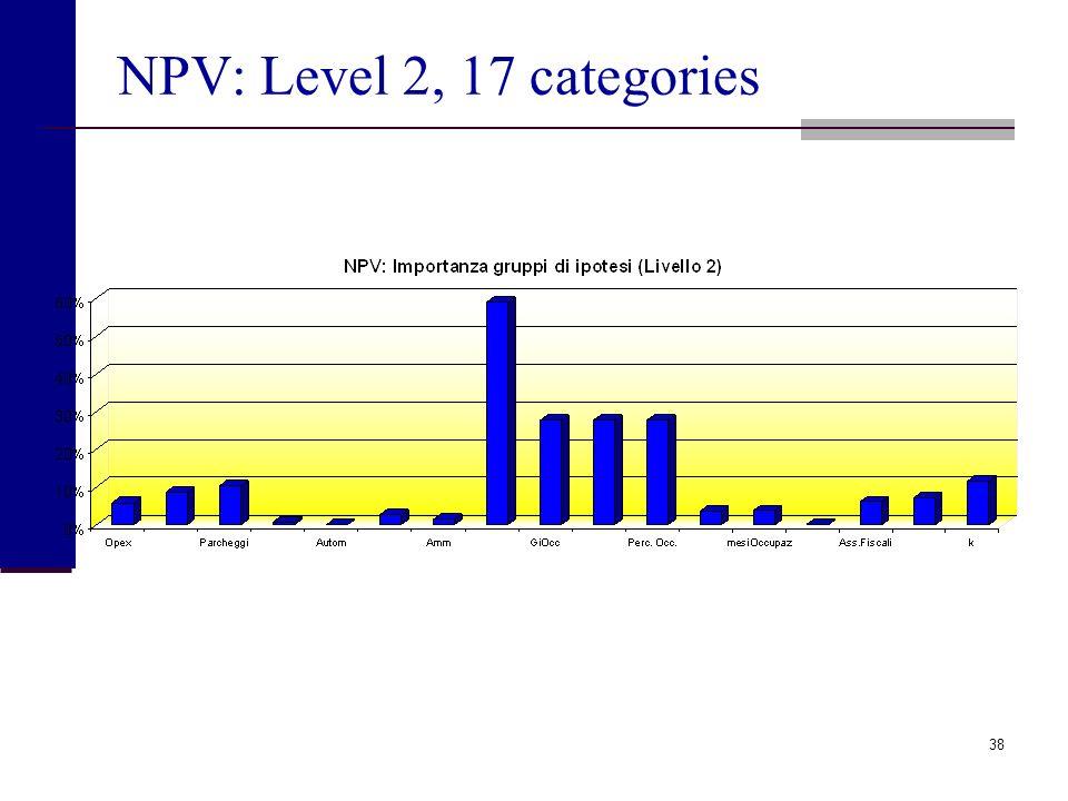 37 NPV: Level 1