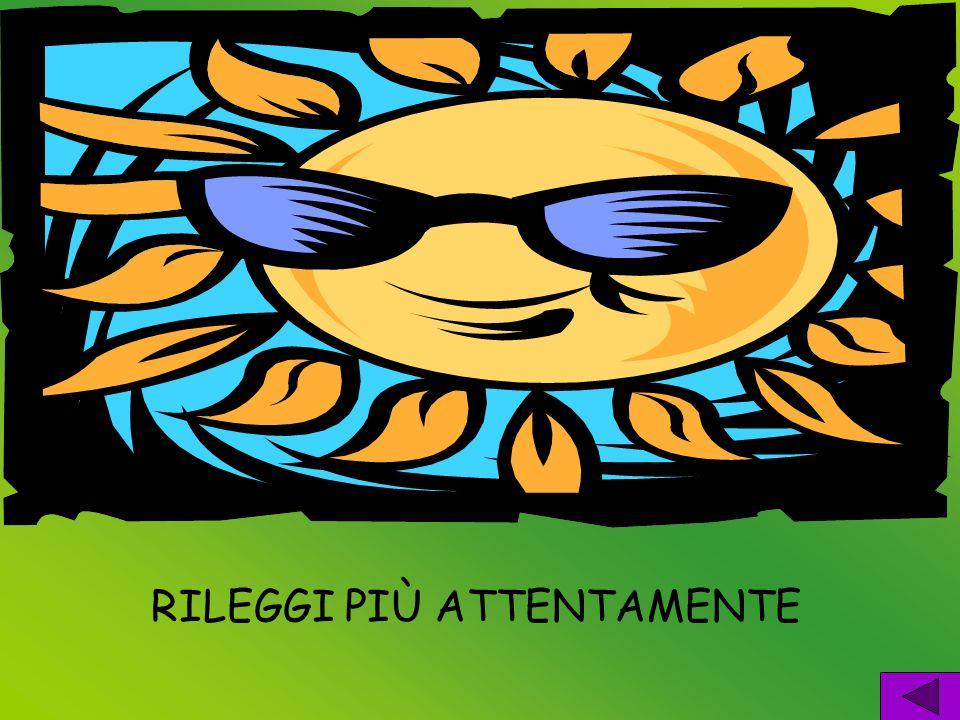 RILEGGI PIÙ ATTENTAMENTE