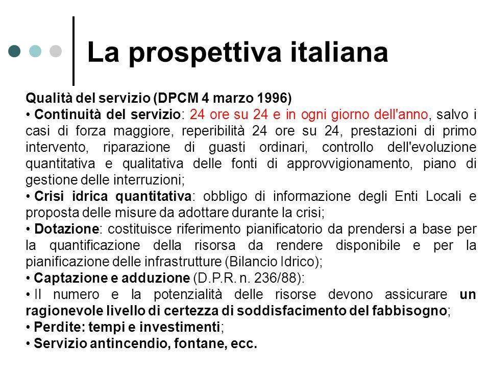 Qualità del servizio (DPCM 4 marzo 1996) Continuità del servizio: 24 ore su 24 e in ogni giorno dell'anno, salvo i casi di forza maggiore, reperibilit