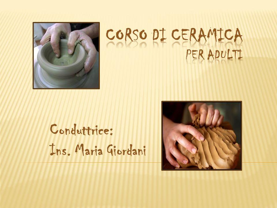 Conduttrice: Ins. Maria Giordani